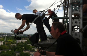 NDR Dreharbeiten Kamera: Mick Chmella