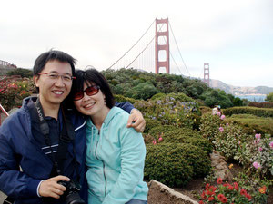 The first time we visited Golden Gate Bridge in Sept 08