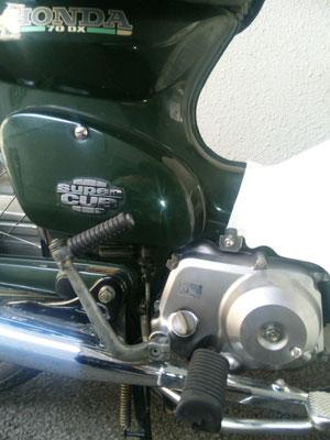 70ccのエンジンで、いろんなところに行きたいです!!