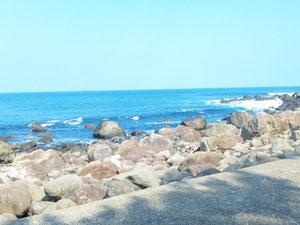 初島の海です。