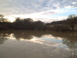 Au bout de l'étang Notre Dame du Bernet