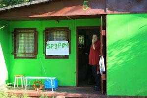 Tymczasowa siedziba klubu SP9PKM.