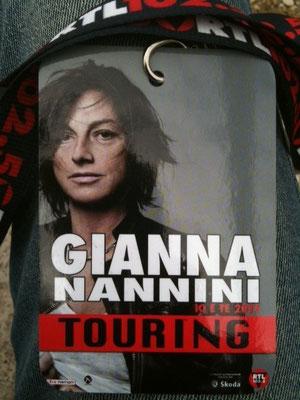 Tour Gianna Nannini 2011