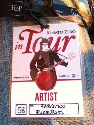 Tour AMO Renato Zero