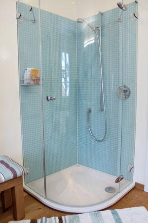 Glasmosaik-Dusche Mürren
