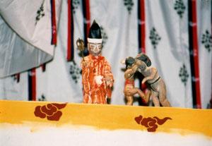 神相撲 神舞殿にて