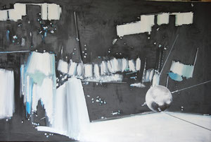 Oil-XI (150 x 80cm) (not all shown), unfinished
