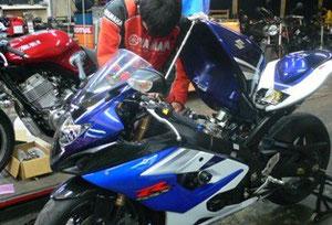 バイク車検整備