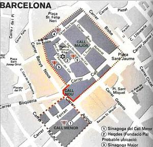Barrio Judío Barcelonés