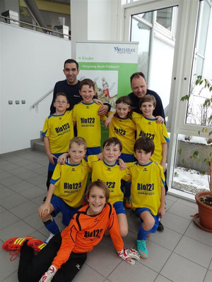 TSV Poing E4 (Poing1) Hallenturnier Mortimer Cup 2013