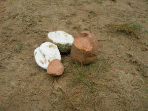 Marmor Stein und Eisen bricht. Manchmal kann man das Wörtlich nehmen.