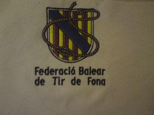 Das Wappen des Balearischen Schleudererverbands