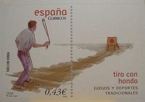 Spanische Briefmarke