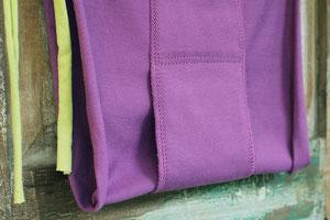 プレーンタイプはクロッチも本体と同じコットンで、そのまま着ても快適です。