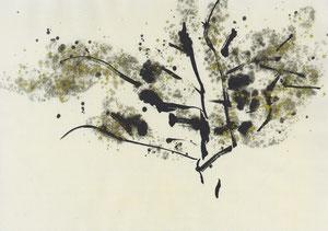 2013_夜桜 半紙サイズ