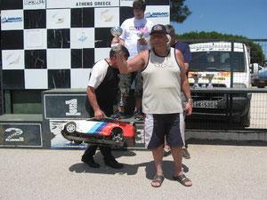 2 Finalläufe über je 30 Minuten  2 x auf den 5ten Platz gefahren, 3. bester Gastfahrer. Ich war sehr zufrieden.
