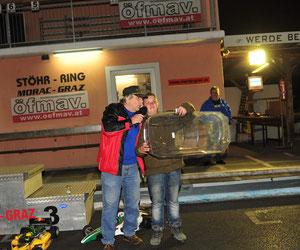 Sandro unser Jüngster gewann die TW - Karosserie