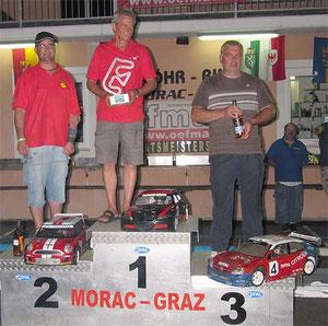 Sierger C Finale Franz Berger, 2ter Christian Kube, 3ter Tomac Zdravko HR
