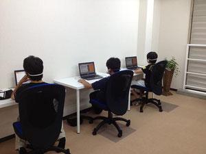 城東区蒲生の個別指導学習塾アチーブメント、授業風景