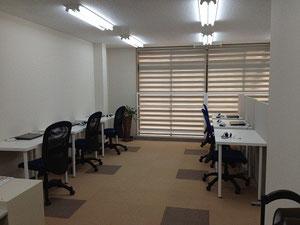 城東区蒲生の個別指導学習塾アチーブメント、教室風景