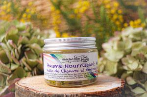 Baume nourrissant mains_naturel huile de chanvre_Benjoin Bois de Gaiac_NaturalOhm