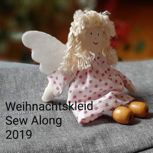 Logo Weihnachtskleid-Sew-Along 2019 © GriseldaK 2019