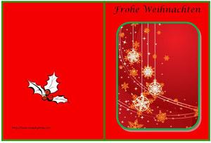 Weihnachtskarten kostenlos ausdrucken lores orakel - Weihnachtskarten drucken gratis ...