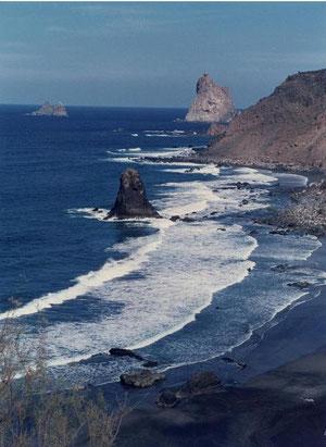 Strand bei Puerto de la Cruz