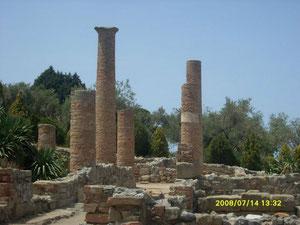 Scavi romani presso il santuario di Tindari