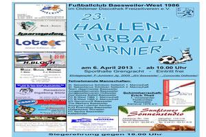 Hallenturnier Baesweiler - 06.04.2013  Wie gehabt, auf das Bildchen klicken.