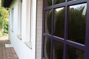 Haustür und Klinkeranstrich