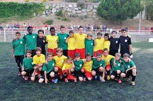 Girona sub 12 Campions de Catalunya