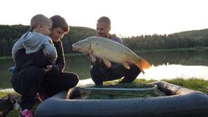 Dany und Wolfi mit Adrian
