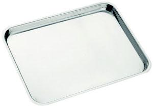 Lonatini snc Lumezzane _produzione vassoi pasticceria in acciaio inox