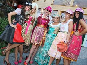Bachelor Ladies und Rosi Almrauschparty 2012