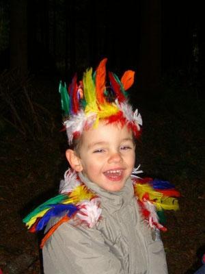 Mein Geburtstagsfest in der Waldspielgruppe (September 2005)