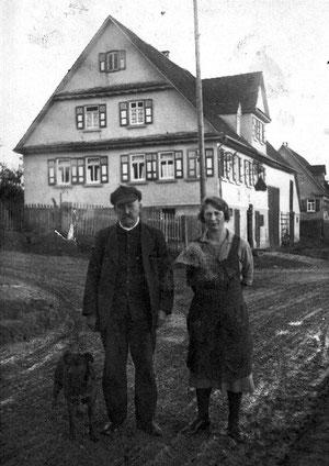Karl und Pauline Heim Anfang der 1920er Jahre