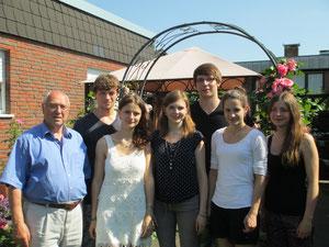 Herr Dr. Gravenkötter mit unserer tollen Gruppe!
