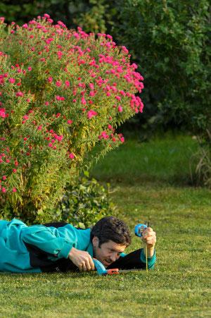 Garten ist nicht nur Entspannung sonder auch harte Arbeit...
