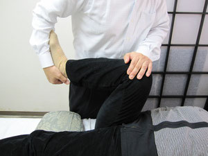 陰部神経痛の施術