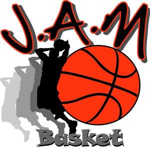 Création du logo JAM Basket
