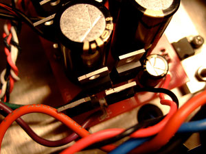 Rectifier Bridge replaced with four CREE SiC diodes