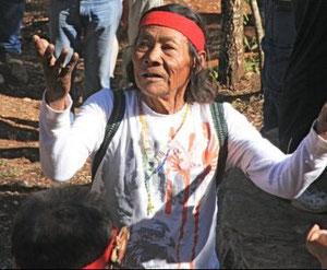 El Maestro Chapito, de la cultura Seri, visitante de las estrellas, más de 100 años en esta Tierra y ninguna cana. Con gran respeto.