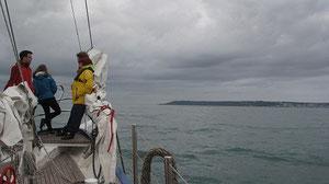 Guernsey in Sicht!