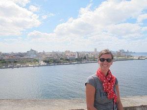 La Habana im Hintergrund
