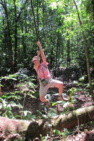 Einmal Tarzan sein!