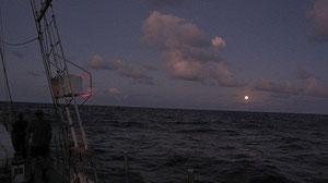 ...und der Mond auf!