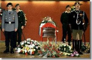 Beerdigung Lucien V. Ott in Brüssel