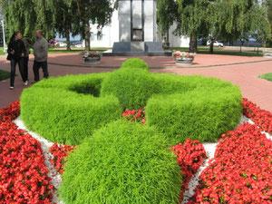 Пример озеленения Нижегородского Кремля