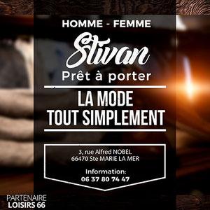 Réduction STIVAN mode Ste Marie Loisirs 66